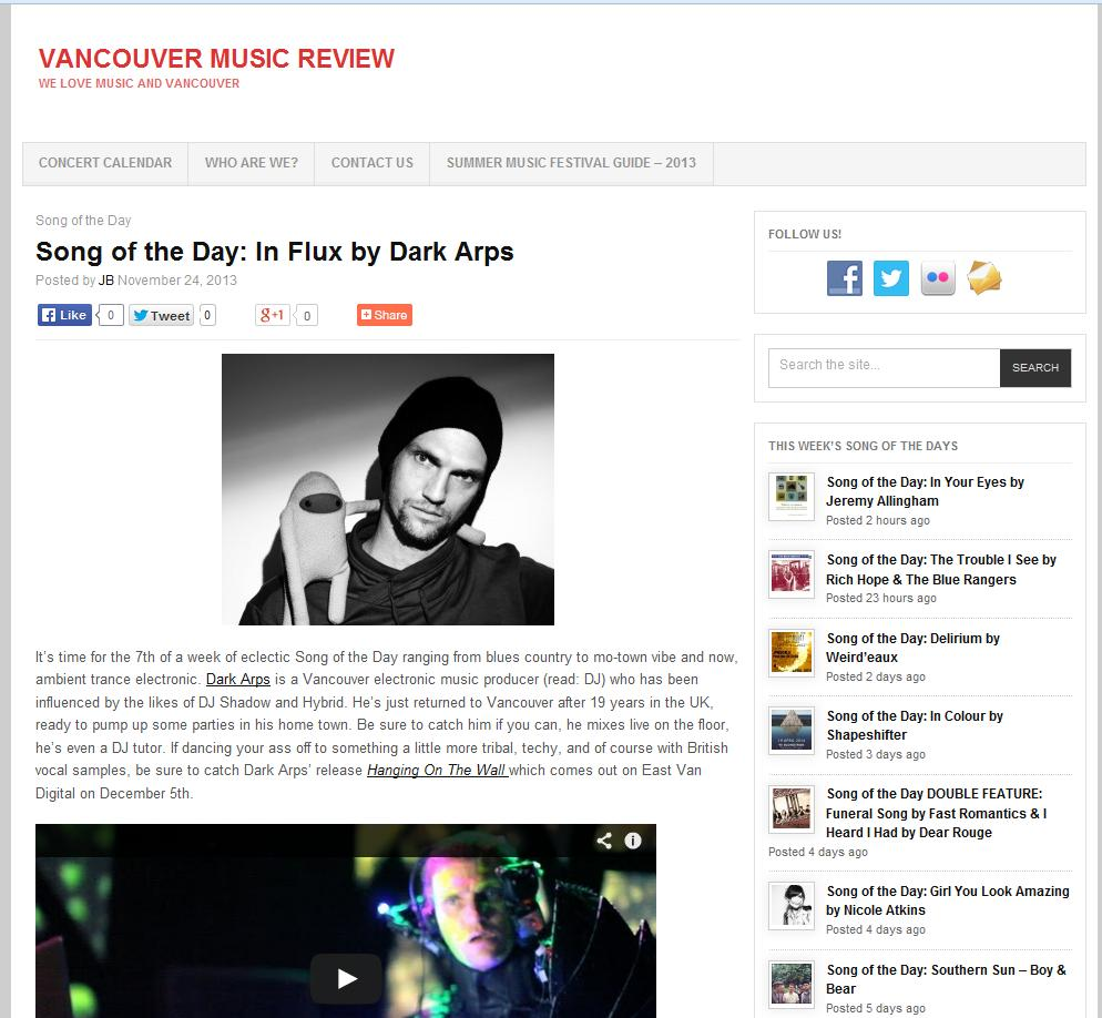 Vancouver Music Review